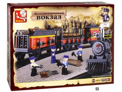 Конструктор Sluban Вокзал «Железнодорожная станция» (M38-B0232)