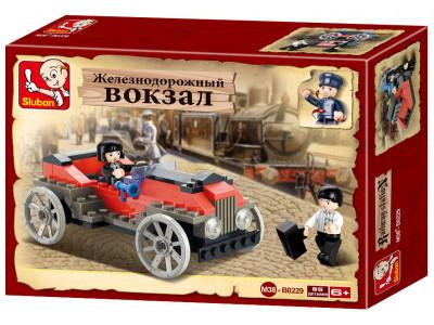 Конструктор Sluban Вокзал «Автомобиль» (M38-B0229)