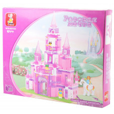 Конструктор Sluban Розовая мечта «Замок принцессы» (M38-B0152)