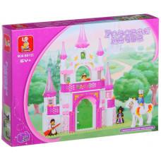 Конструктор Sluban Розовая мечта «Королевский дворец» (M38-B0153)