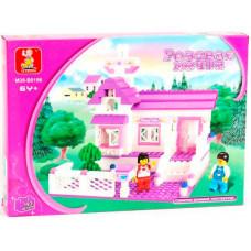 Конструктор Sluban Розовая мечта «Загородный домик» (M38-B0156)