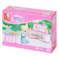 Конструктор Sluban Розовая мечта «Завтрак принцессы» (M38-B0238)