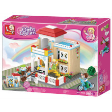 Конструктор Sluban Розовая мечта «Загородный дом» (M38-B0533)