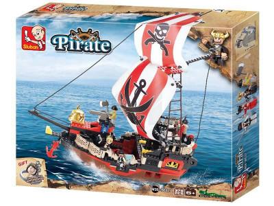 Конструктор Sluban Пираты «Мстительная королева морей» (M38-B0127)