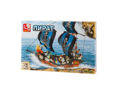 Конструктор Sluban Пираты «Сражение в море» (M38-B0128)