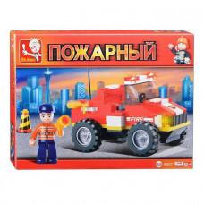 Конструктор Sluban Пожарный «Маленький спасательный грузовик» (M38-B0217)