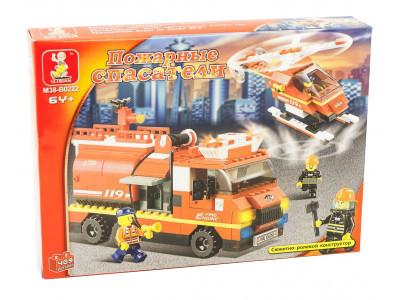 Конструктор Sluban Пожарный «Первая помощь» (M38-B0222)