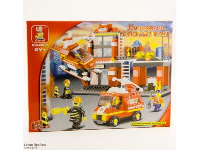 Конструктор Sluban Пожарный «Диспетчерская станция» (M38-B0225)