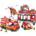 Конструктор Sluban Пожарный «Чрезвычайное происшествие» (M38-B0226)