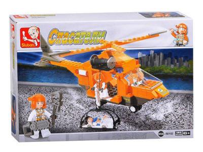 Конструктор Sluban Служба спасения «Вертолет» (M38-B0102)