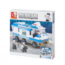 Конструктор Sluban Полиция «Полицейский автофургон» (M38-B0188)