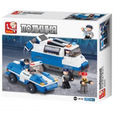 Конструктор Sluban Полиция «Автомобиль для перевозки преступников» (M38-B0189)
