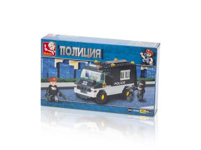 Конструктор Sluban Полиция «Патрульная машина» (M38-B1600)