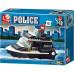 Конструктор Sluban Полиция «Военная полиция: Катер» (M38-B1700)