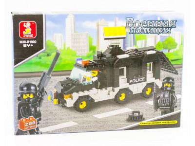 Конструктор Sluban Полиция «Фургон с прожектором» (M38-B1900)