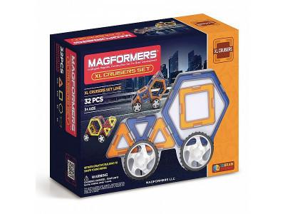 Магнитный конструктор Magformers XL- Cruisers, 32 детали