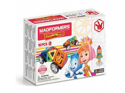 Магнитный конструктор Magformers - Фиксики, 16 деталей