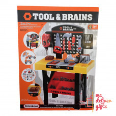 Детская мастерская. Верстак-стол для детей и набор инструментов (Tool and Brains 1896)